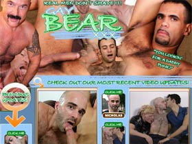 Welcome to Gay Bear XXX - real hairy men in gay porn!