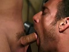 Four prisoners fuck n jizz on guard daddy gay movies
