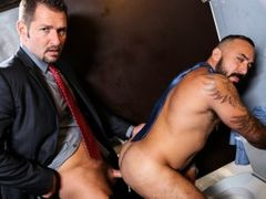 Alessio is waiting patiently at his favorite gloryhole. He comes here about twice a week and usually gets at least one cock but it takes a while and h daddy gay movies