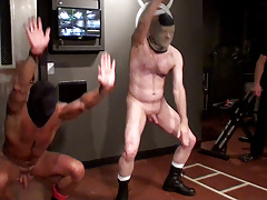 What was supposed to be a smoking serious strained workout scene turned likes a hyper-competative farce as the mostly naked prisoners fail to one up every other through their sets, stumbling on almost every exercise. Puppy is then strained to keep movin daddy gay movies