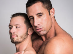 Nervous married chap Asher Devon meets up with gay Internet crush Nick Capra to experiment with chap on chap sex. Watch as experienced Daddy Nick explores every inch of the young Asher's body and fucks him hard until both shoot their mega loads. daddy gay movies