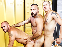 Gym Colleagues daddy gay movies