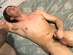 Handsome dude fuck a horny young guy in his beedroom in here daddy gay movies
