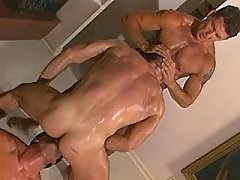 Tight dudes assbanging and jizzing