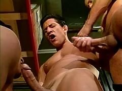 Handsome black eyed Italians suck