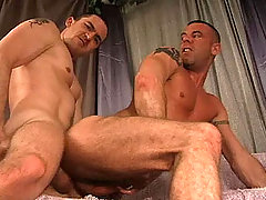 Hot Straight guy enjoying anal action with his gay friend